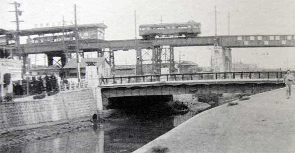 池上電気鉄道の電車