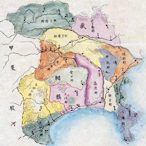 地図 神奈川 県 神奈川県の活断層