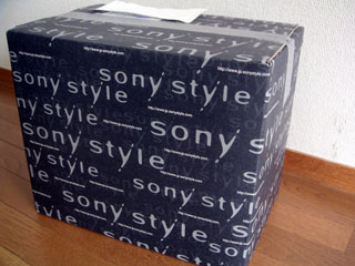 sonystyleの箱